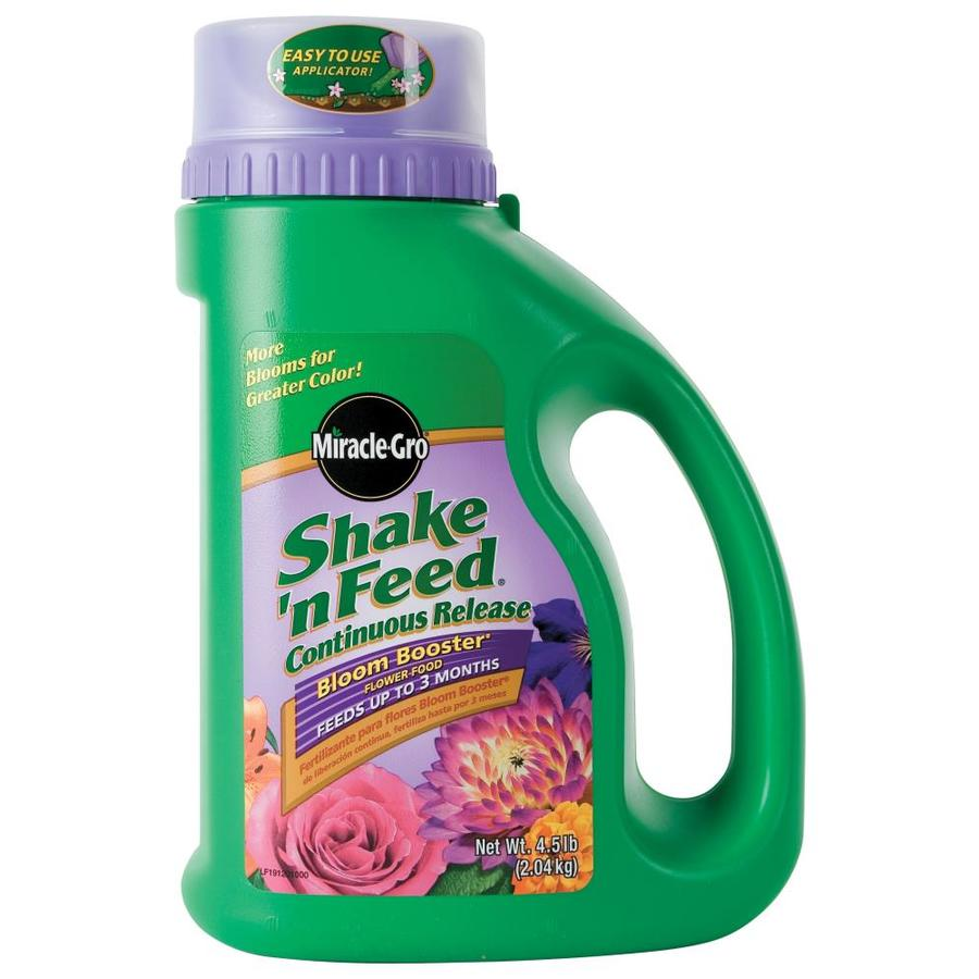 Miracle-Gro Shake 'n Feed Bloom Booster 4.5-lb Flower and Vegetable Food (10-16-10)
