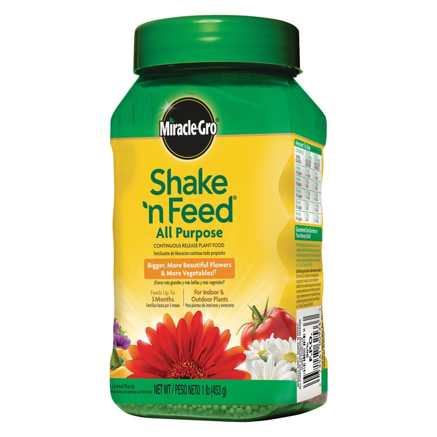 Miracle-Gro Shake 'n Feed All Purpose Continuous Release Plant Food 1-lb All Purpose Food (12-4-8)