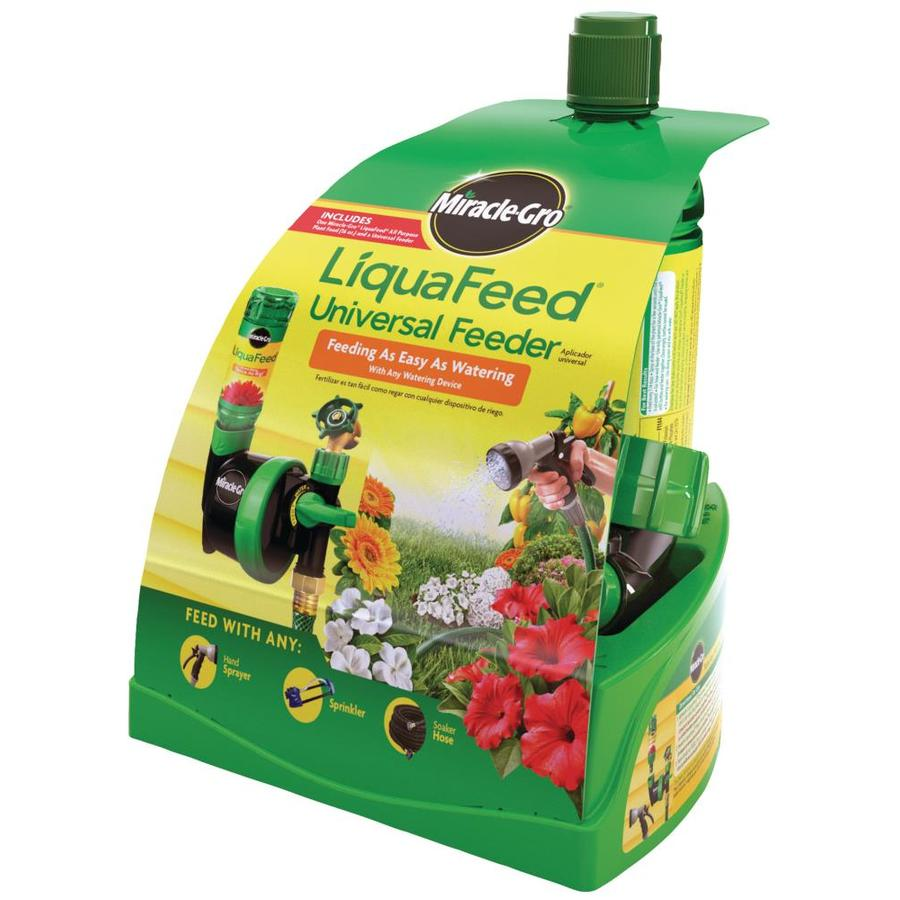 Miracle-Gro Liquafeed Universal Feeder Starter Kit All Purpose Food (12-4-8)