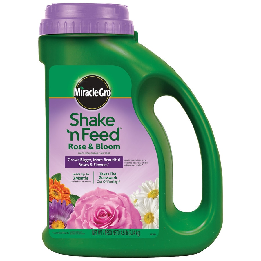 Miracle-Gro Shake 'n Feed Feed Rose and Bloom 4.5-lb Food (9-18-9)