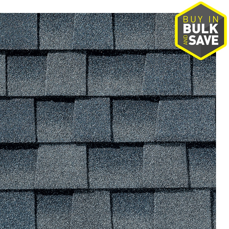 Gaf Timberline Hd 33 33 Sq Ft Biscayne Blue Laminated Architectural Roof Shingles In The Roof Shingles Department At Lowes Com