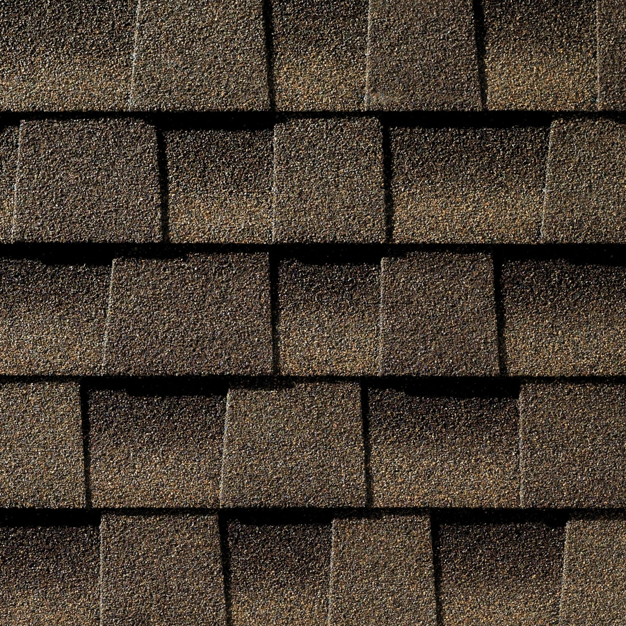 GAF Timberline HD 33.33-sq ft Barkwood Laminated Architectural Roof Shingles
