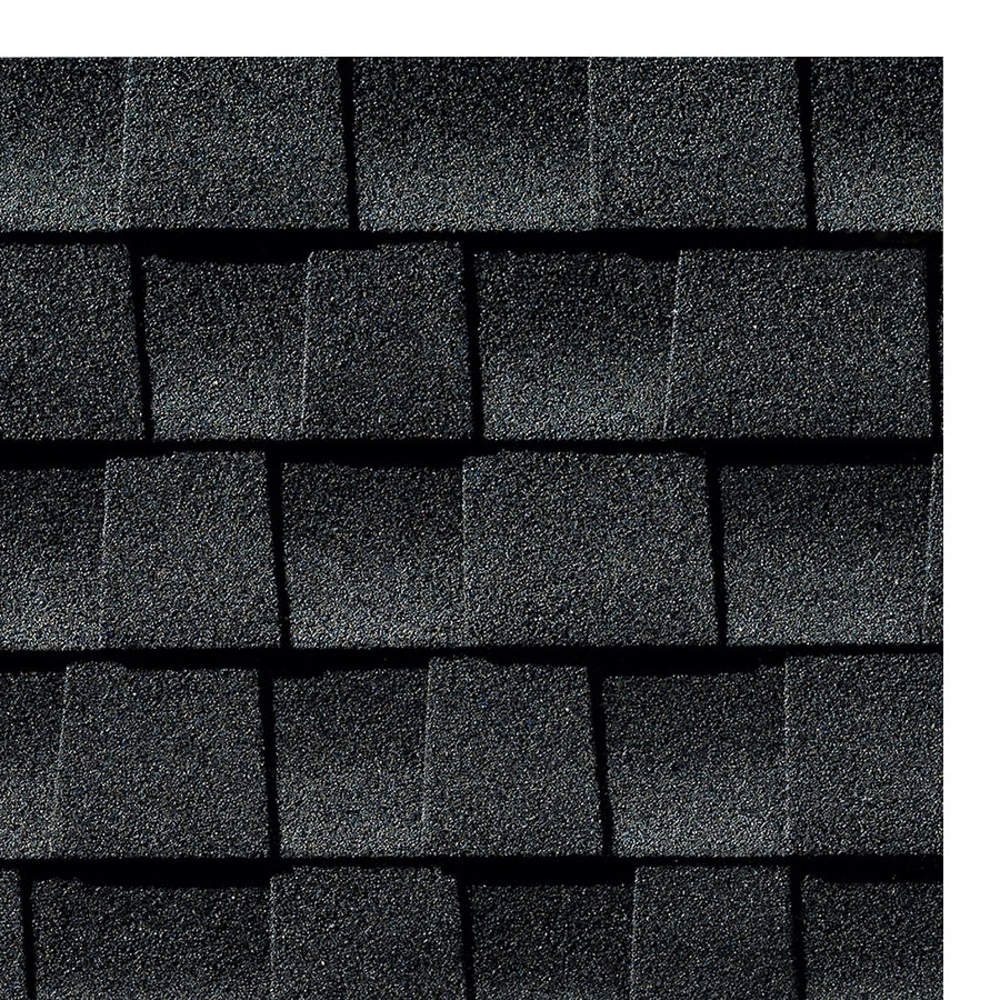 Shop Gaf Timberline Hd 33 33 Sq Ft Charcoal Laminated