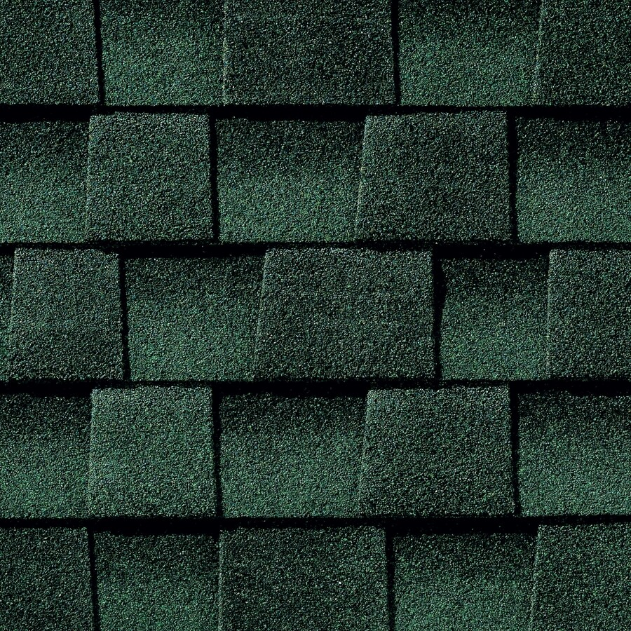 GAF Timberline Ultra HD 25-sq ft Hunter Green Laminated Architectural Roof Shingles