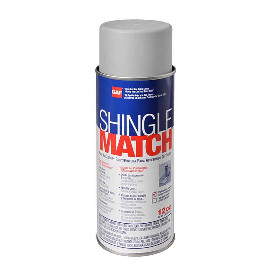Shop Gaf Gray Silver Outdoor Spray Paint At
