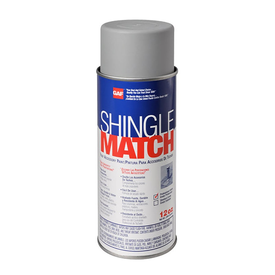 GAF Gray/Silver Outdoor Spray Paint