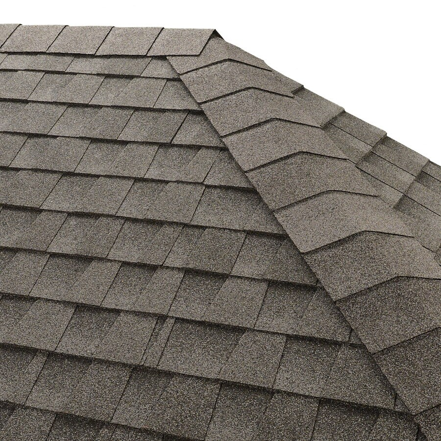 GAF Seal-A-Ridge 25-lin ft Seal-A-Ridge Oyster Gray Hip and Ridge Roof Shingles