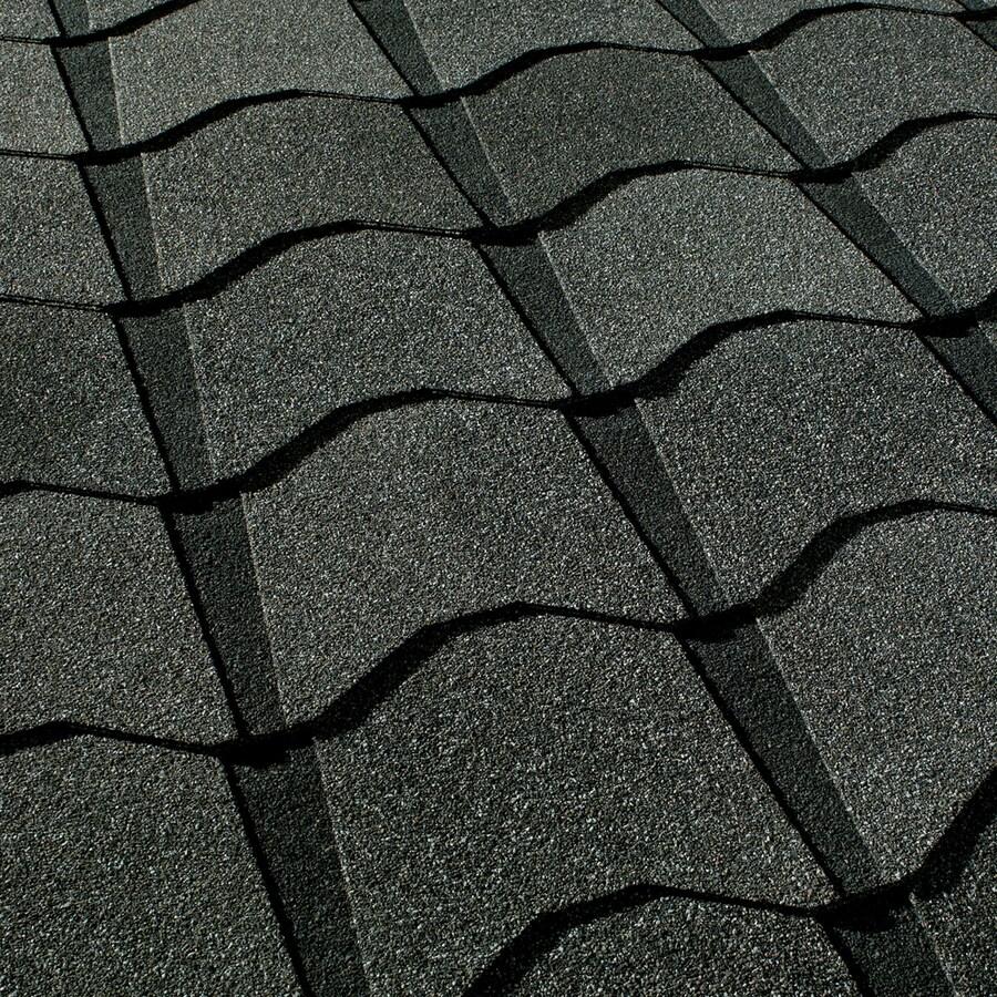 GAF Monaco 33.33-sq ft Amalfi Gray Laminated Architectural Roof Shingles