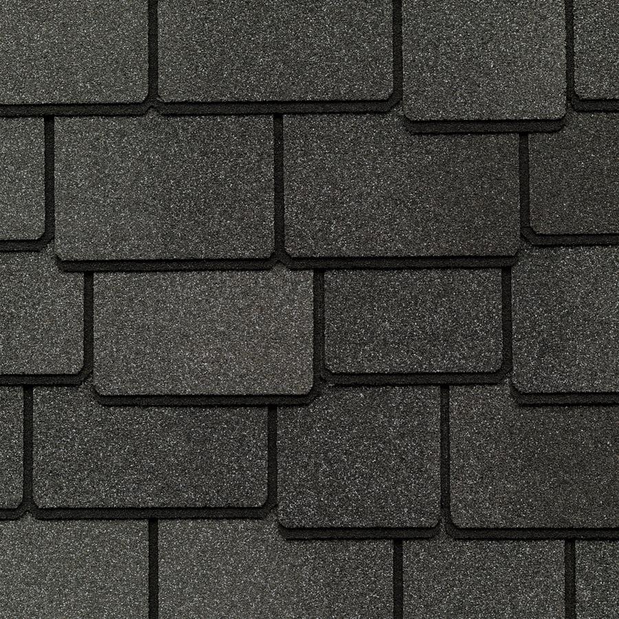 GAF Woodland 25-sq ft Gray Laminated Architectural Roof Shingles