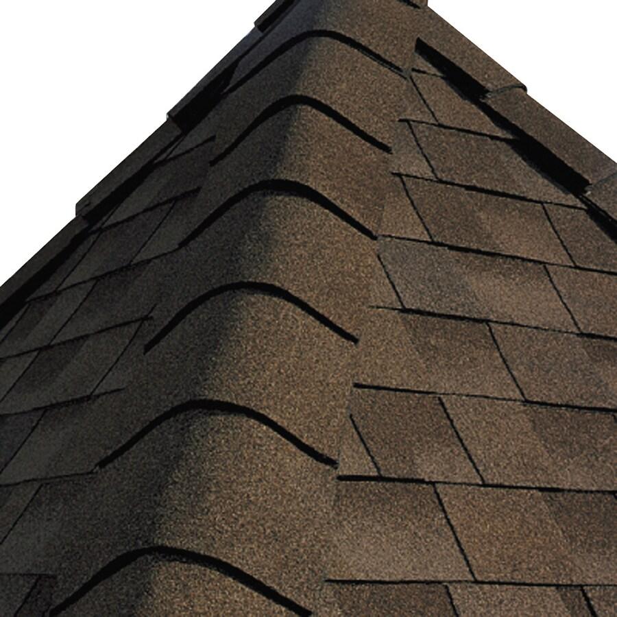 GAF TIMBERTEX 20-lin ft Adobe Sunset Laminated Hip and Ridge Roof Shingles