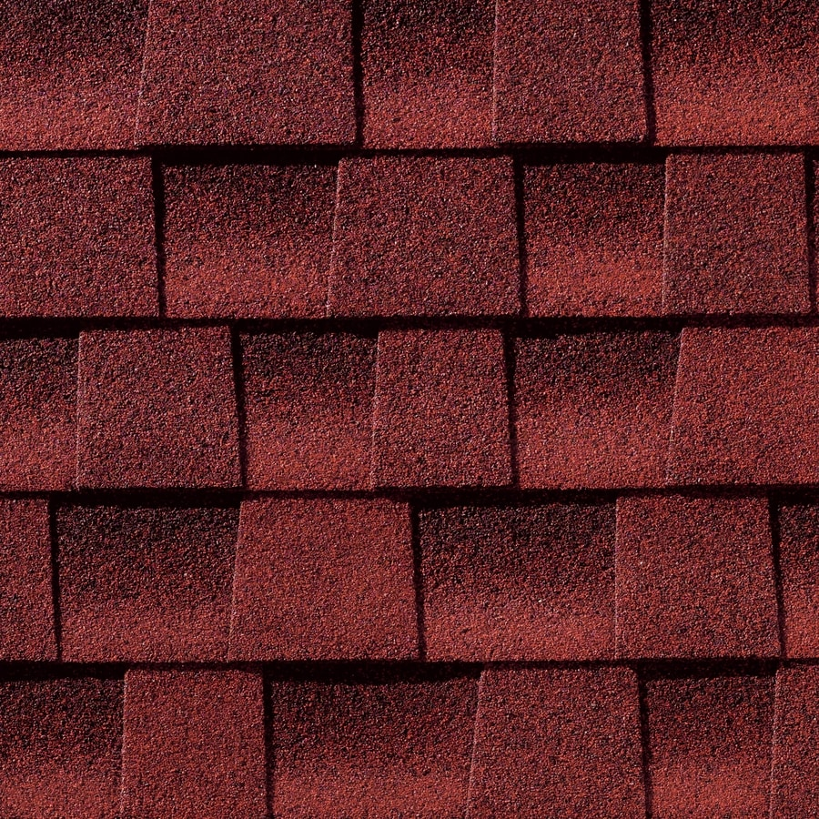 GAF Timberline HD 33.33-sq ft Patriot Red Laminated Architectural Roof Shingles