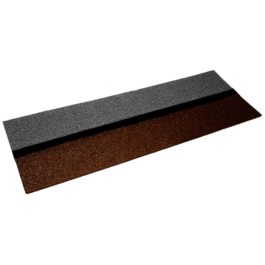 GAF StarterMatch 60-lin ft Weathered Wood Starter Roof Shingles