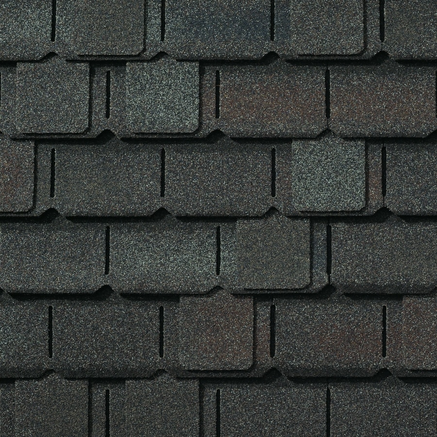 GAF Camelot 14-sq ft Royal Slate Laminated Architectural Roof Shingles
