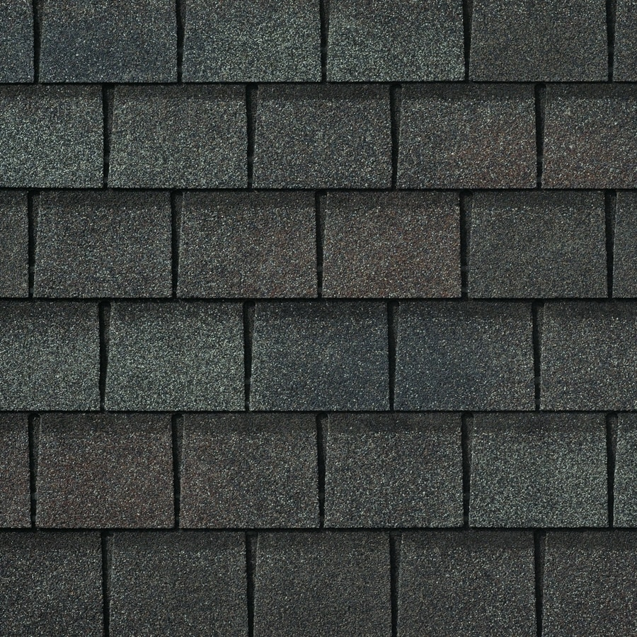 GAF Slateline 25-sq ft Royal Slate Laminated Architectural 5-Tab Roof Shingles