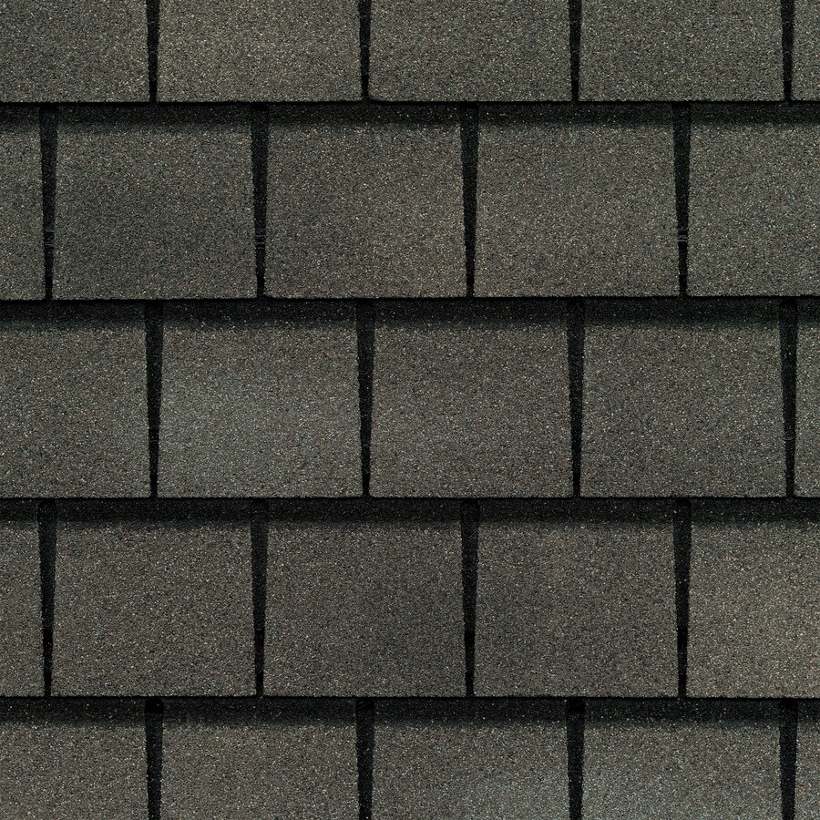 GAF Slateline 33.33-sq ft Weathered Slate Architectural 5-Tab Roof Shingles
