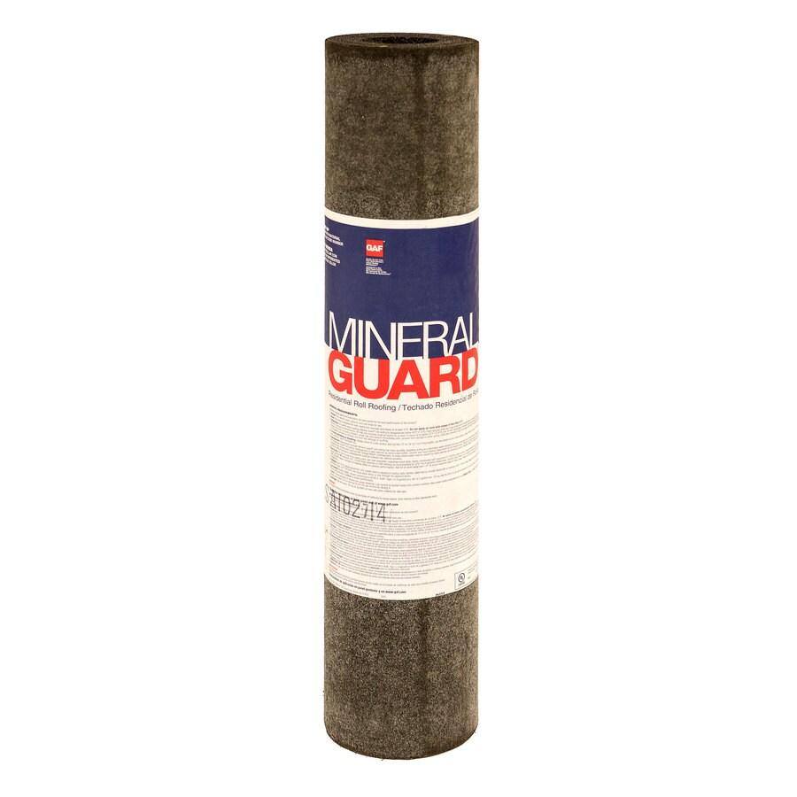 GAF Mineral Guard 3.33-ft W x 32.58-ft L 100-sq ft Summer Sage Roll Roofing