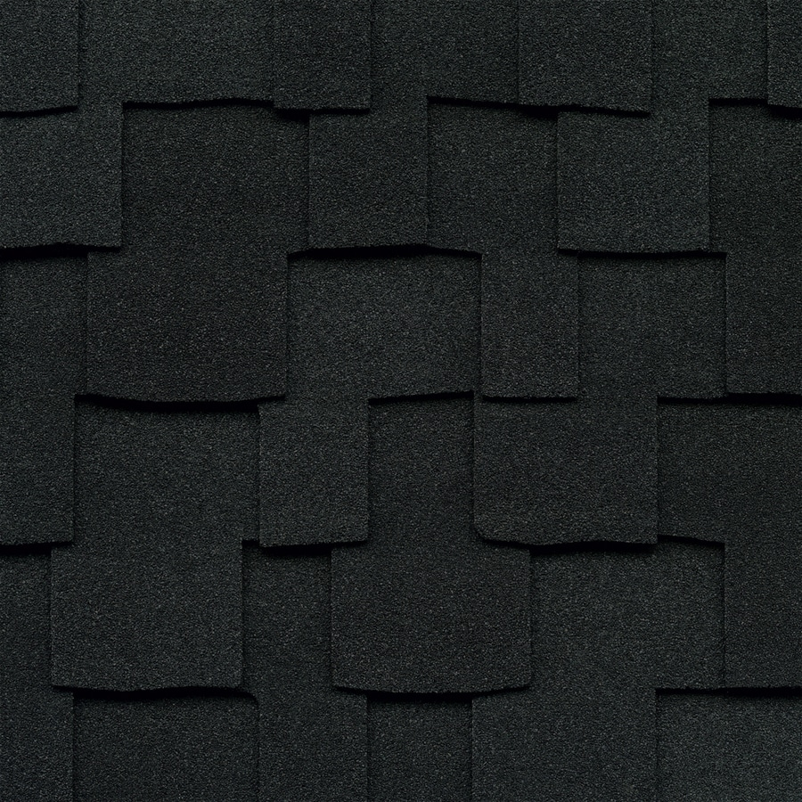 GAF Grand Sequoia 20-sq ft Charcoal Laminated Architectural Roof Shingles