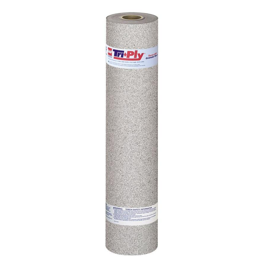 GAF Triply 3.3-ft W x 32.25-ft L 100-sq ft White Roll Roofing