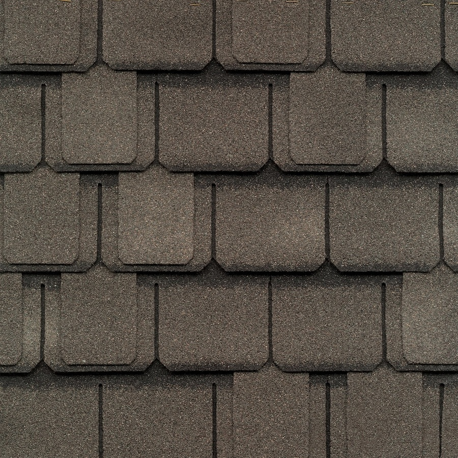 GAF Camelot 14.286-sq ft Aged Oak Laminated Architectural Roof Shingles
