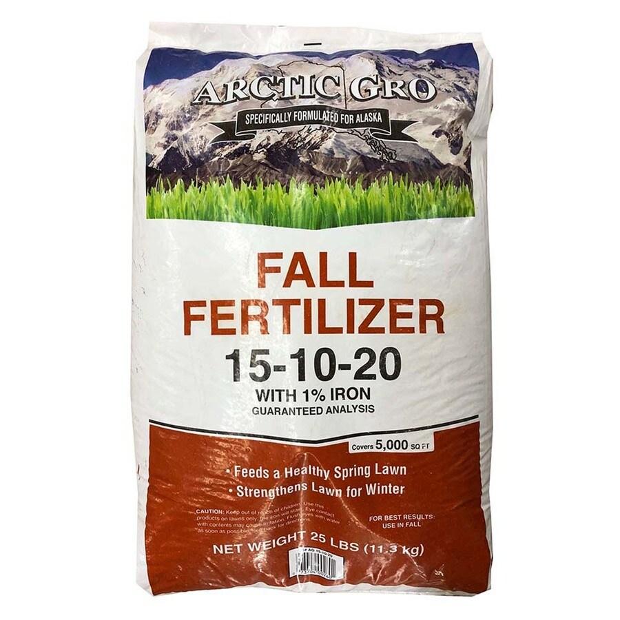 Arctic Gro 5,000-sq ft Fall Lawn Fertilizer (15-10-20)