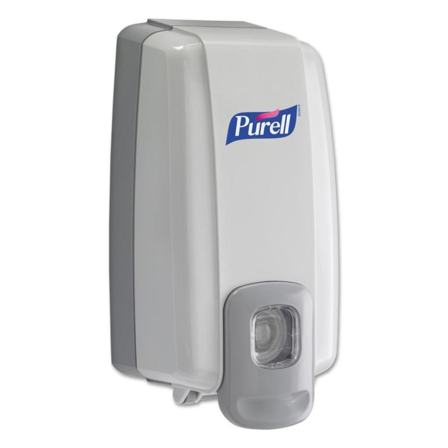 GOJO Gray and White Pump Commercial Soap Dispenser
