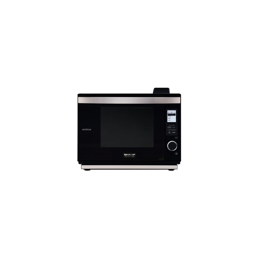 Sharp 21.75-in 1.1 cu ft Microwave Convection Drawer (Black)
