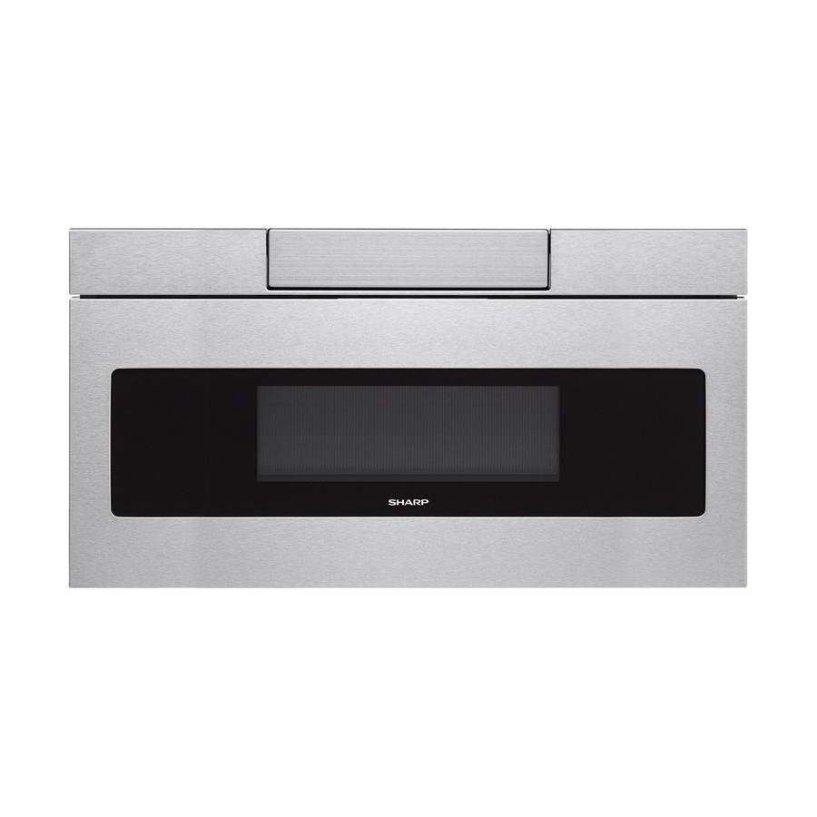 Sharp 1.2-cu ft Microwave Drawer (Stainless Steel) (Common: 30-in; Actual: 30-in)