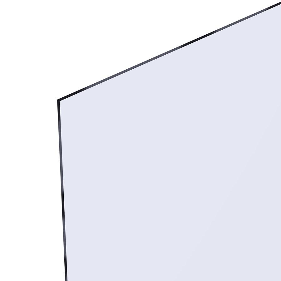 OPTIX 0.08-in x 18-in x 24-in Clear Acrylic Sheet