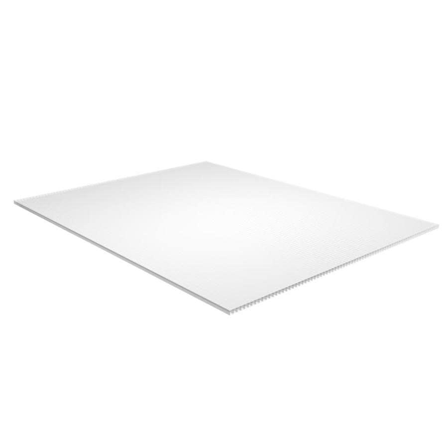 Shop PLASKOLITE Corrugated Plastic Sheet At Lowes