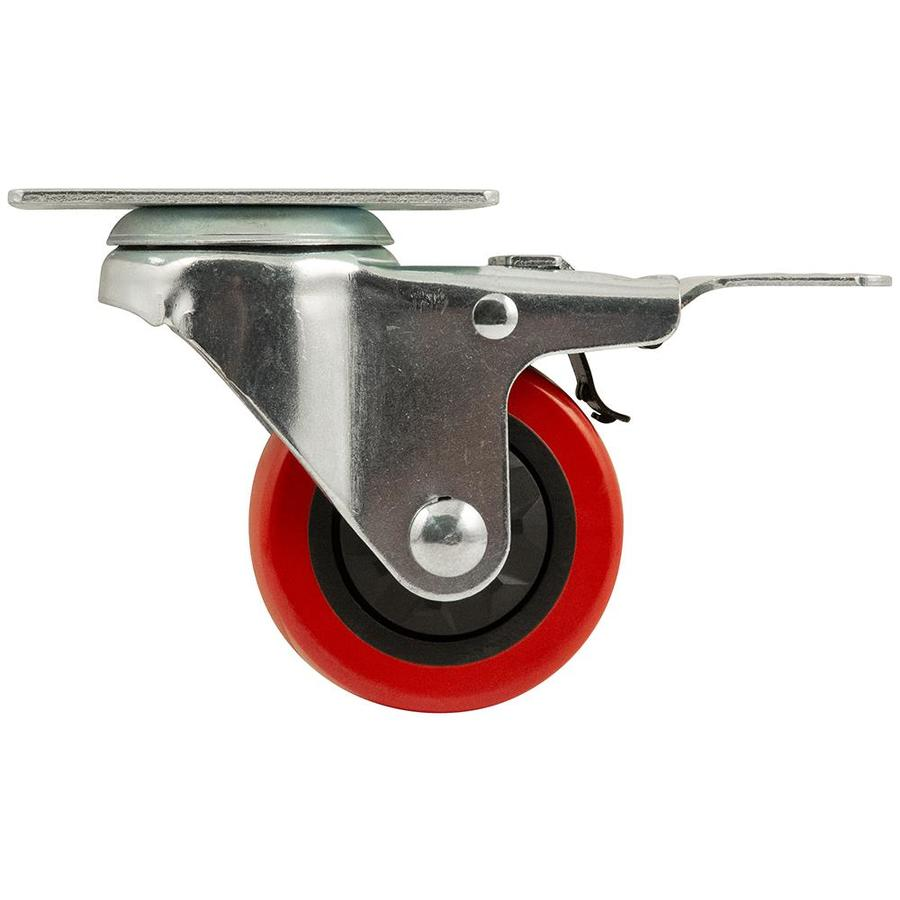 Shop Waxman 3 In Polyolefin Swivel Caster At Lowes Com