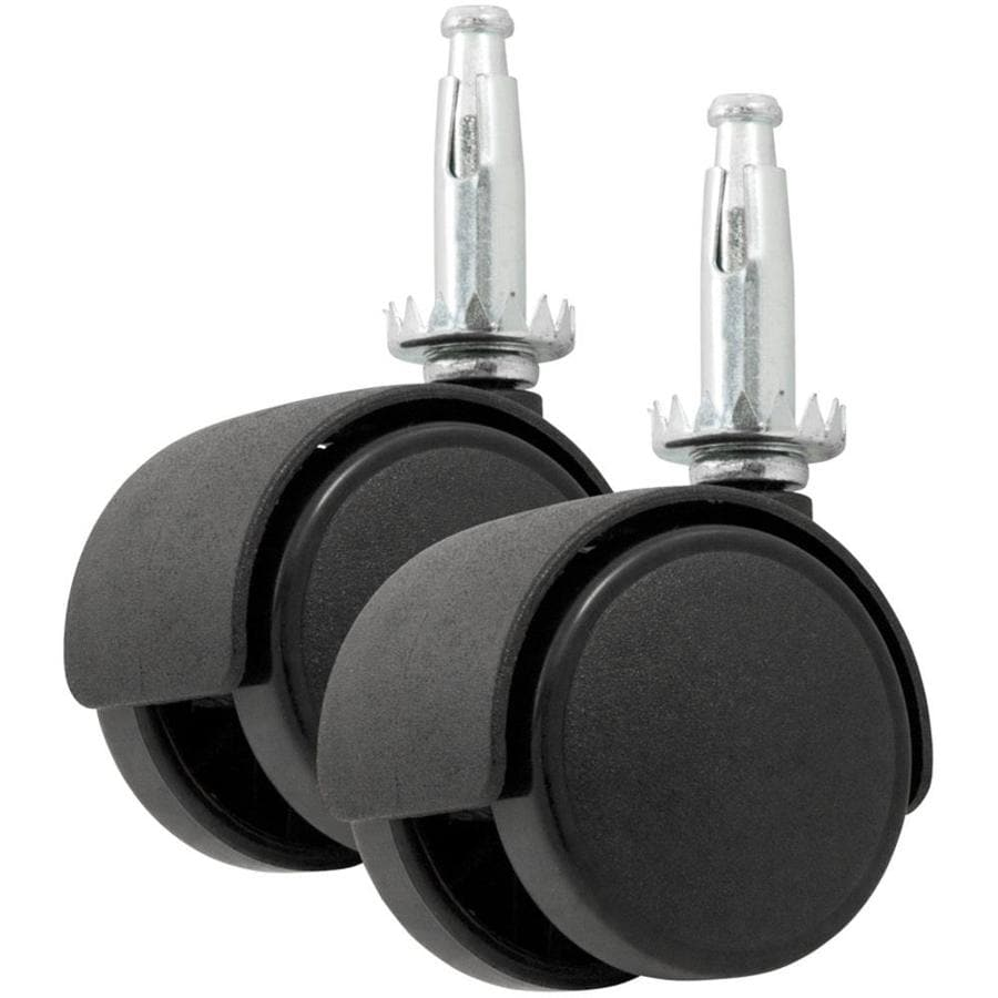 Shop Waxman 2 Pack 2 In Plastic Swivel Casters At Lowes Com