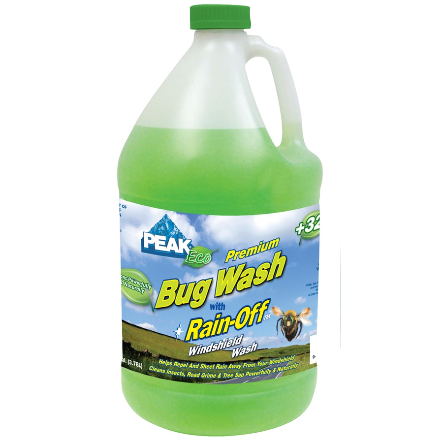 PEAK Premium Bug Wash with Rain-Off