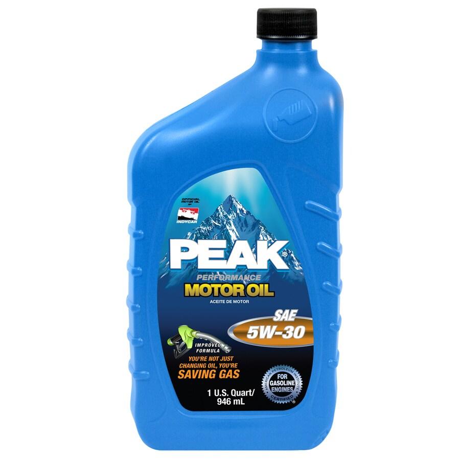 PEAK Quart Peak Motor Oil 5W30