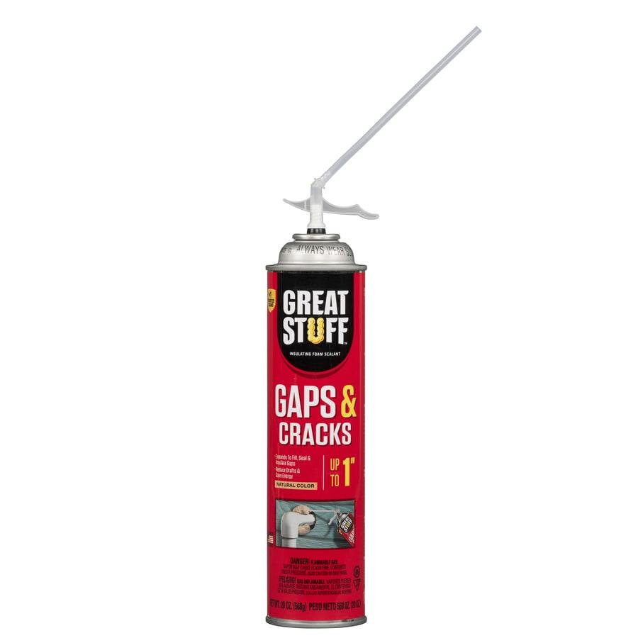 Dow GREAT STUFF Gaps and Cracks 20-fl oz Spray Foam Insulation