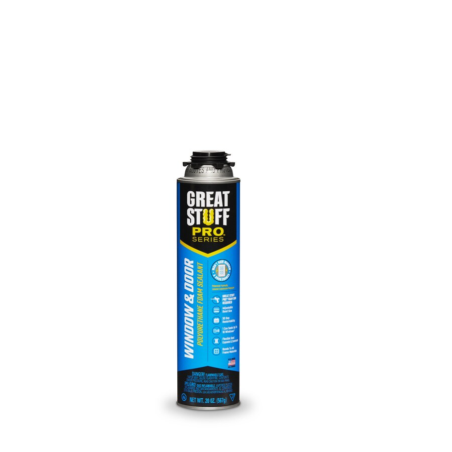 Dow GREAT STUFF PRO Window and Door 20-fl oz Spray Foam Insulation