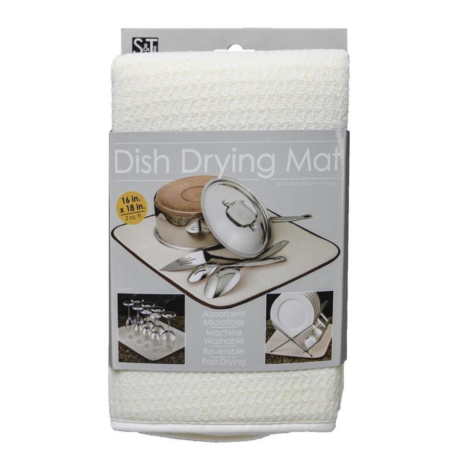 18-in W x 16-in L x 0.375-in H Cloth Drying Mat