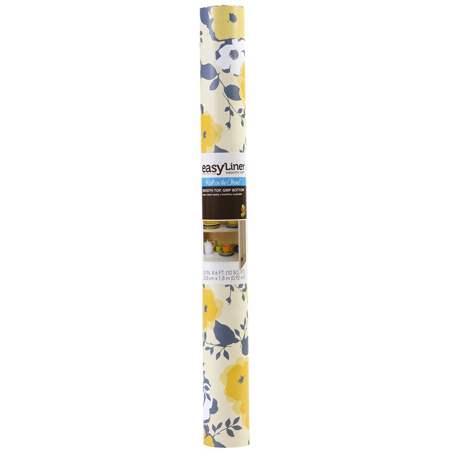 Duck 20-in x 6-ft Yellow Shelf Liner
