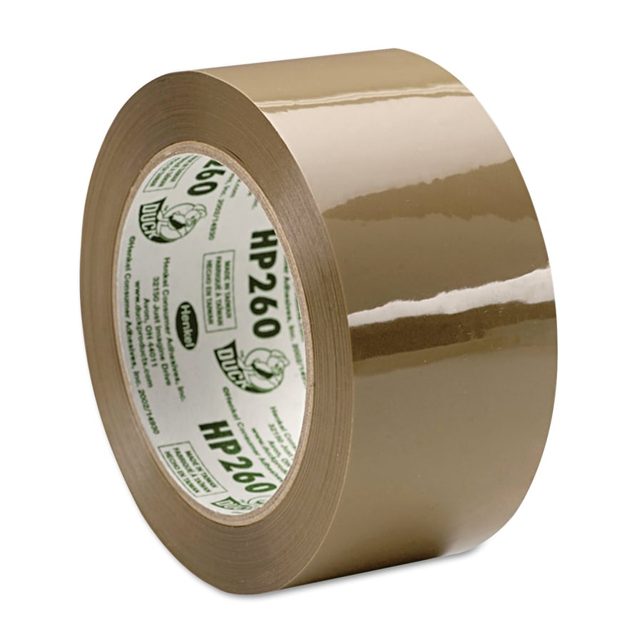 Duck 1.88-in x 180-ft Tan Packing Tape