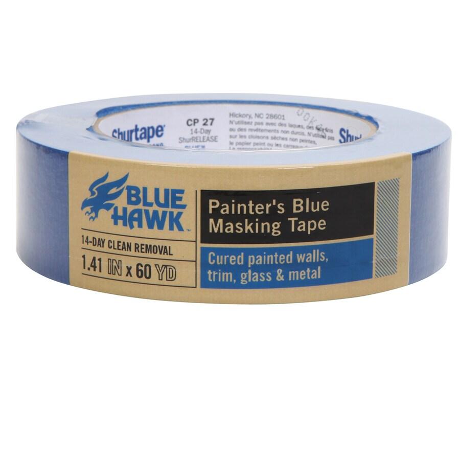 Blue Hawk 1.41-in x 180-ft Trim Painter's Tape