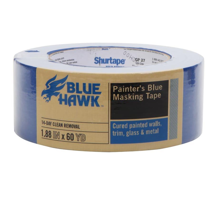 Blue Hawk 1.88-in x 180-ft Trim Painter's Tape