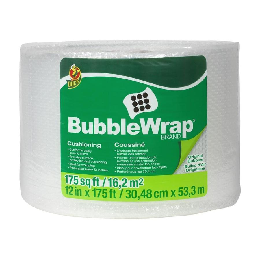 Duck 12 in. x 175 ft. Bubble Wrap