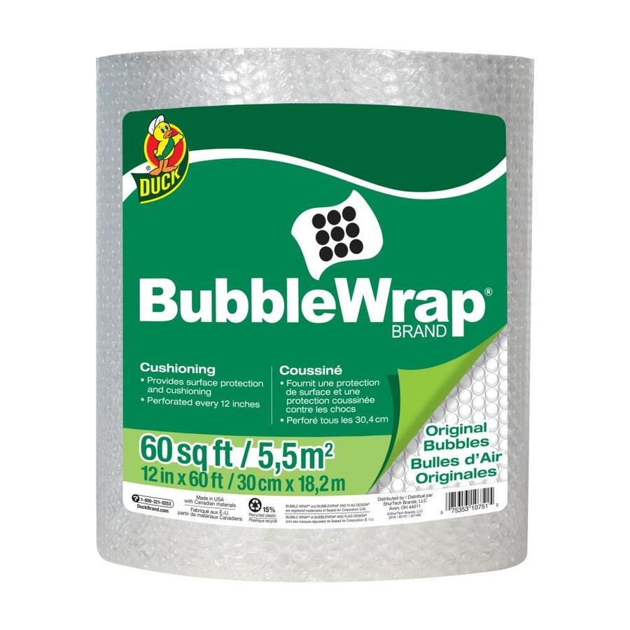 Duck Covers Duck 12-in x 60-ft All Purpose Bubble Wrap