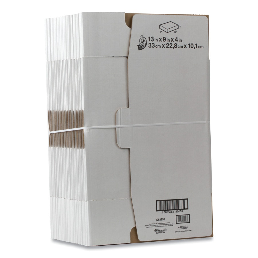 Shop Duck 25 Pack Medium Recycled Cardboard Moving Boxes