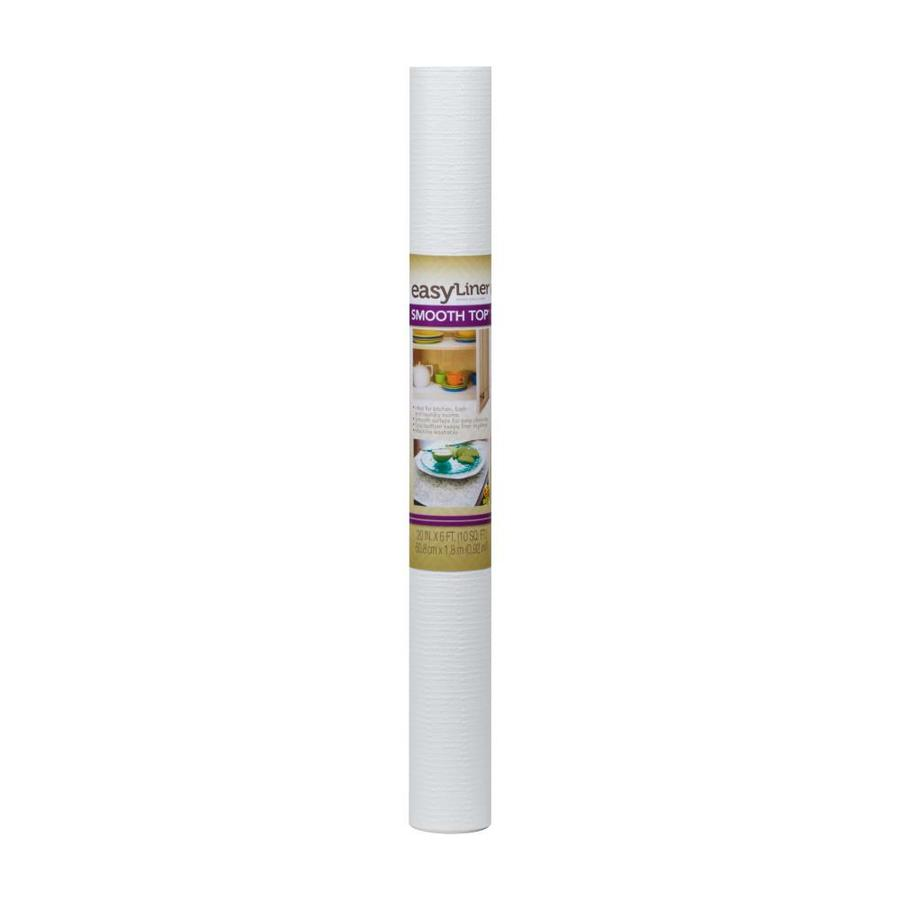 Duck Covers 20-in x 6-ft White Shelf Liner