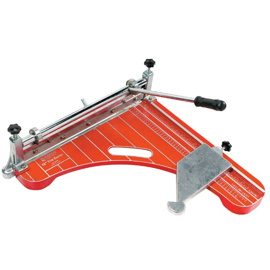 Roberts Vinyl Tile Cutter with Miter Guide and Nylon Carying Case