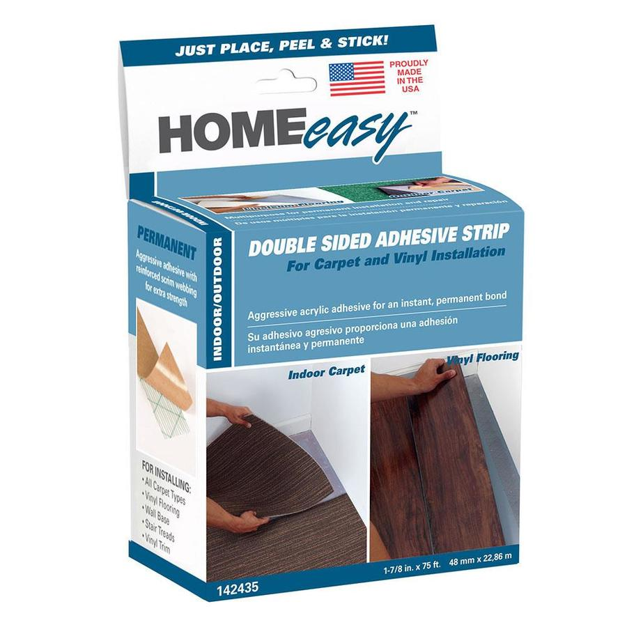 HOMEeasy 1.875-in x 75-ft Clear Double-Sided Seam Tape