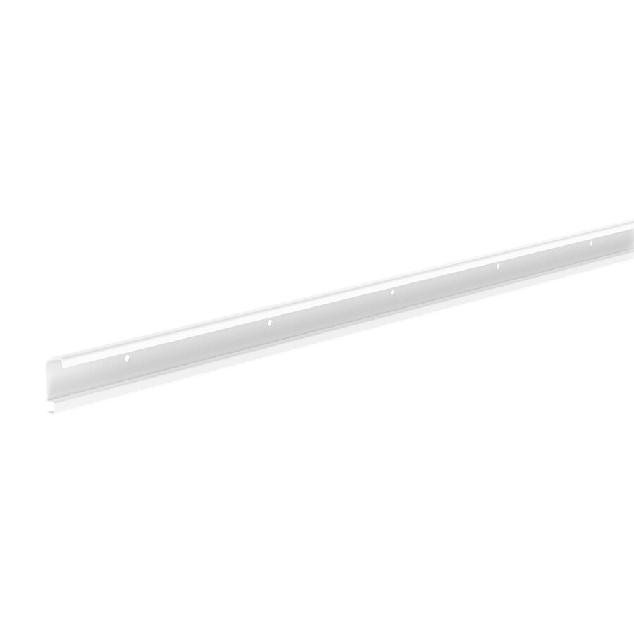 ClosetMaid White Shelving Rail (Common: 80-in x 2-in x 0.875-in; Actual: 80-in x 2-in x 0.875-in)
