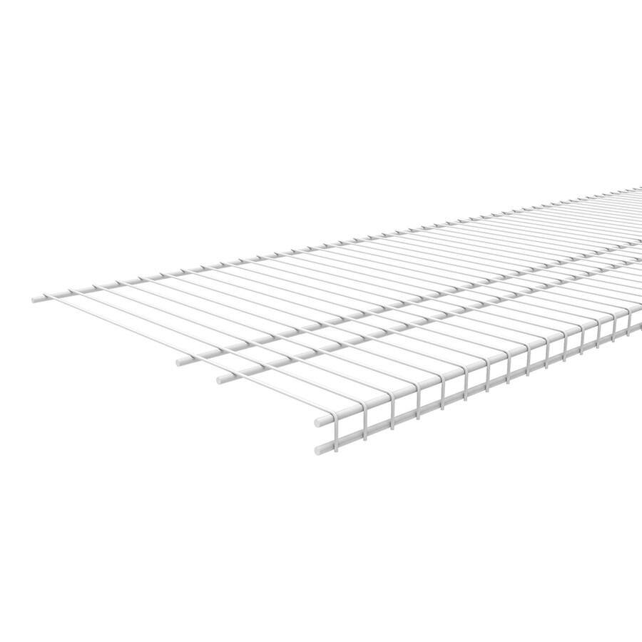 ClosetMaid 4-ft L x 16-in D White Wire Shelf