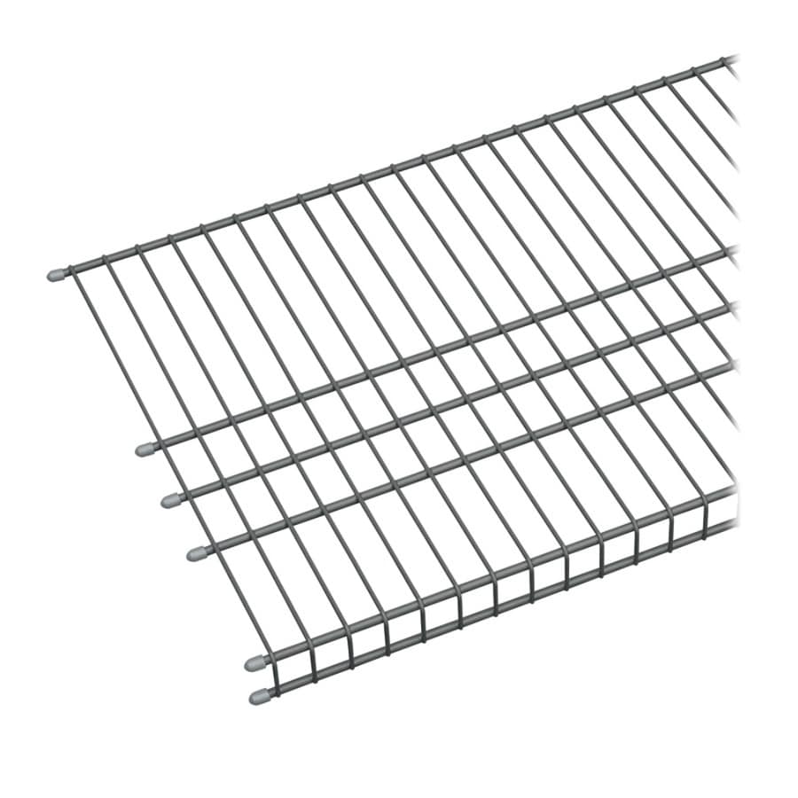 ClosetMaid 4-ft L x 16-in D Gray Wire Shelf