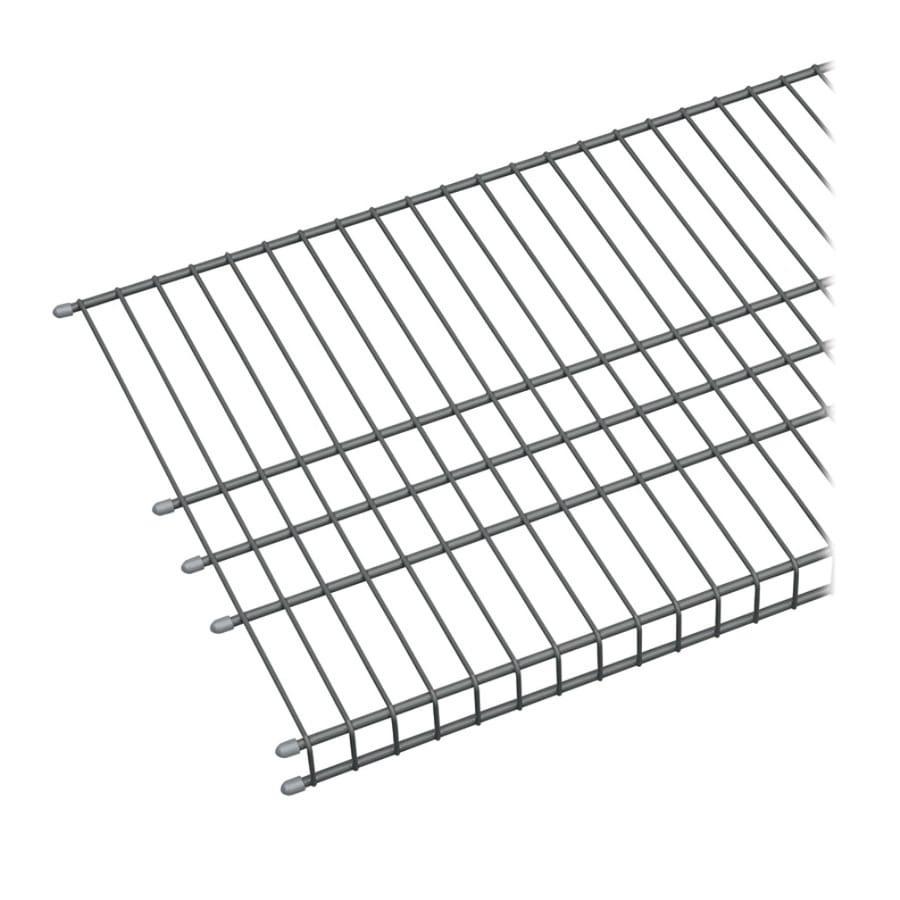 ClosetMaid 6-ft L x 16-in D Charcoal Wire Shelf